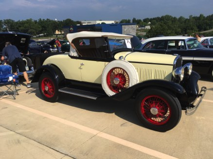 Show Day - 1929 Model K Roadster Fred and Renee Mehr