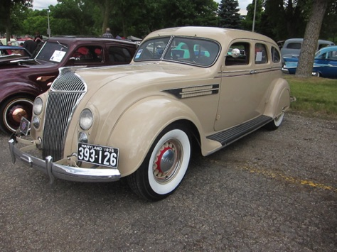 36 Chrysler Airflow, driven from Maryland
