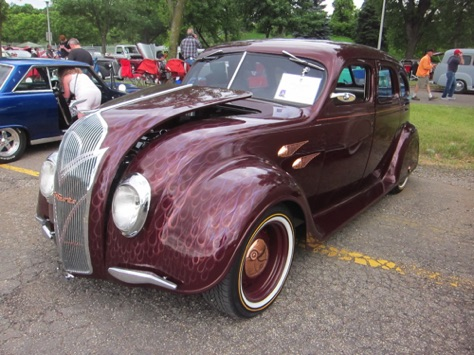 36 DeSoto Airflow, driven from Oregon