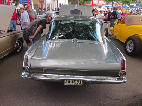 Rear glass of Barracuda