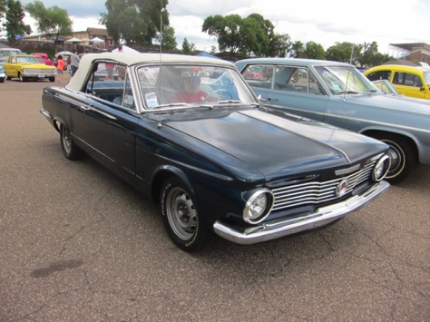 64 Valiant convertible