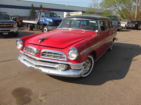 Greg's '55 New Yorker Deluxe station wagon