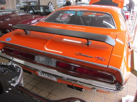 Rear of Challenger