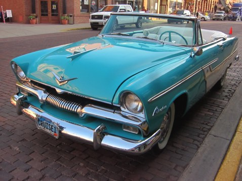1955 Plymouth Belvedere convertible