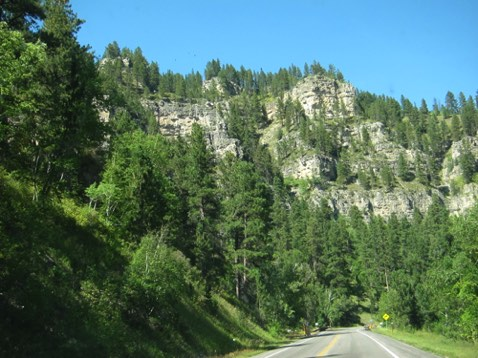 Tourist time - Spearfish Canyon