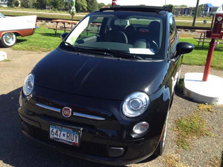 2012 Fiat 500c.Mickey Dunning(it counts!)