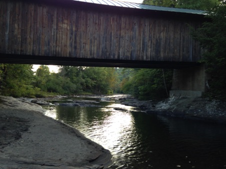 Waterville, VT covered bridge