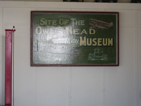 Owl's Head Transportation Museum where the car shoe was held