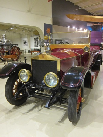 1913 Rolls Royce touring car