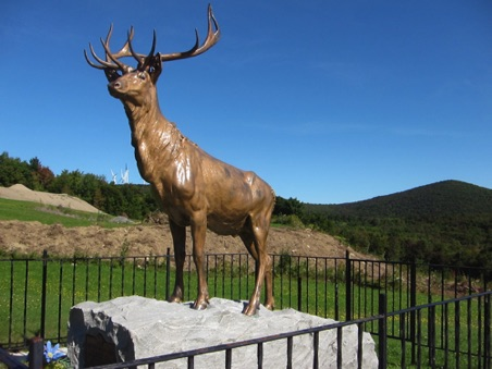 The Elk on the Trail Memorial for Elk brothers who died in WWI